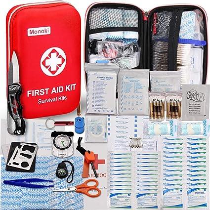 Amazon.com: 174 pcs Kit de primeros auxilios kit de ...