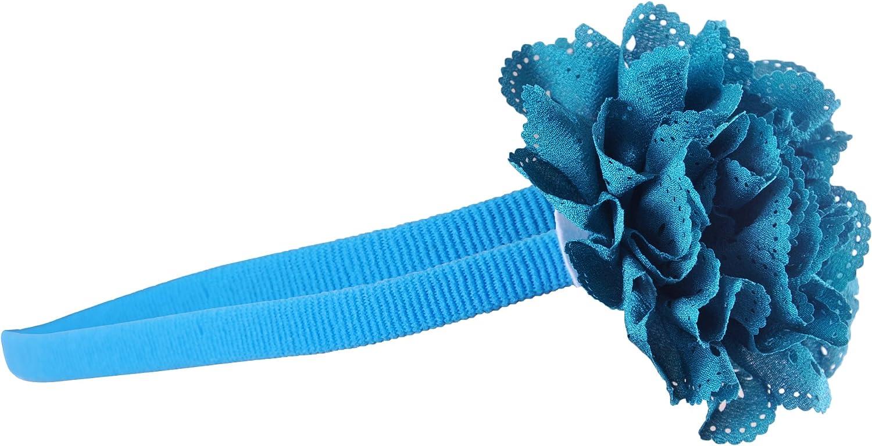 Baby Girl Flower Headband Ruffle Lace Small Hairband Accessory