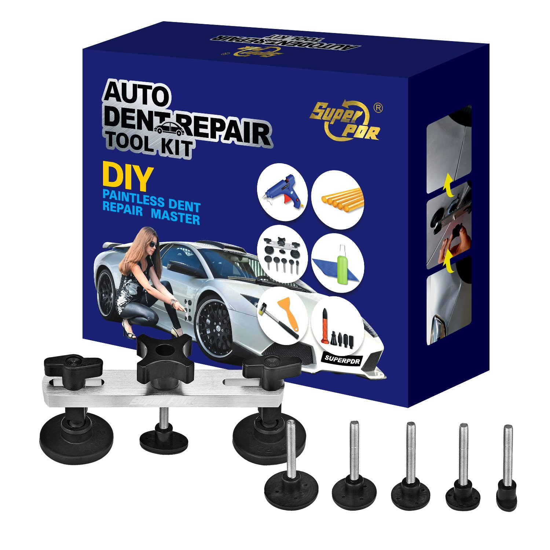 AUTOPDR 17Pcs DIY Car Automotive PDR Body Dent Repair Removal Tool Kit Equipment Gift Box