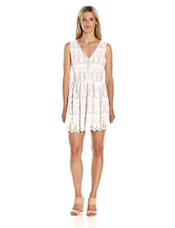 Low V-Neck Dress