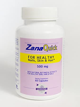 Zanaquick Strong Nail Capsules Nail Fungal Treatment Stronger Nails 500 mg, Nail Fungus Treatments