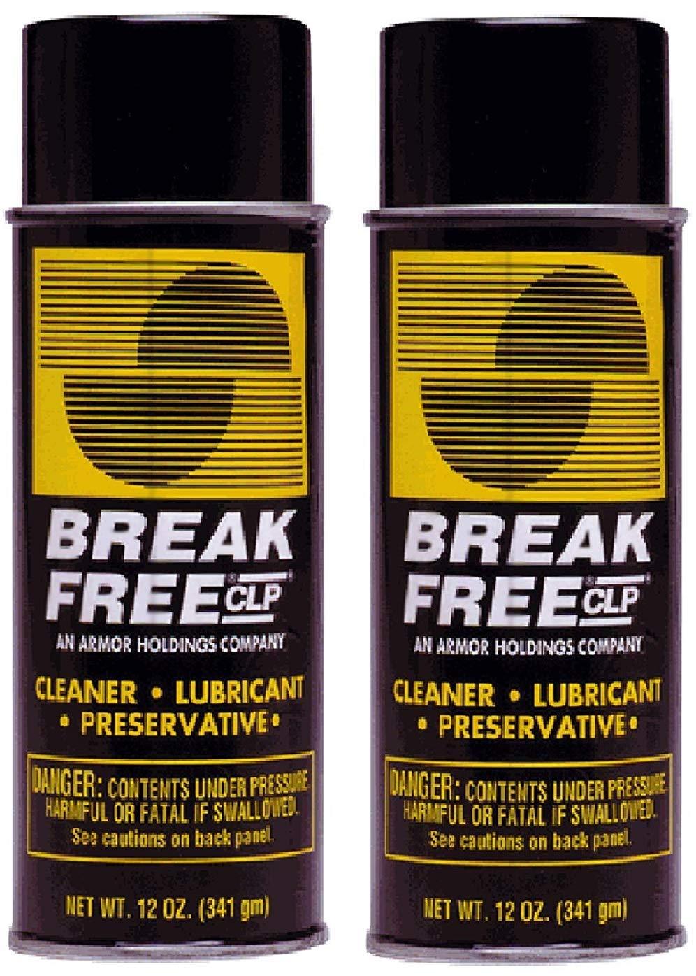 BreakFree CLP Gun Cleans Lubricates Prevent Aerosol Can, 12-Ounce/340gm, BF-CLP12 (2-(Pack))