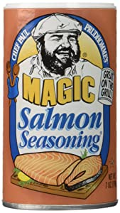Salmon Magic Seasoning - 7 Ounce (Pack of 2)