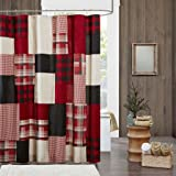 100 Cotton Shower Curtain 72x72 Red