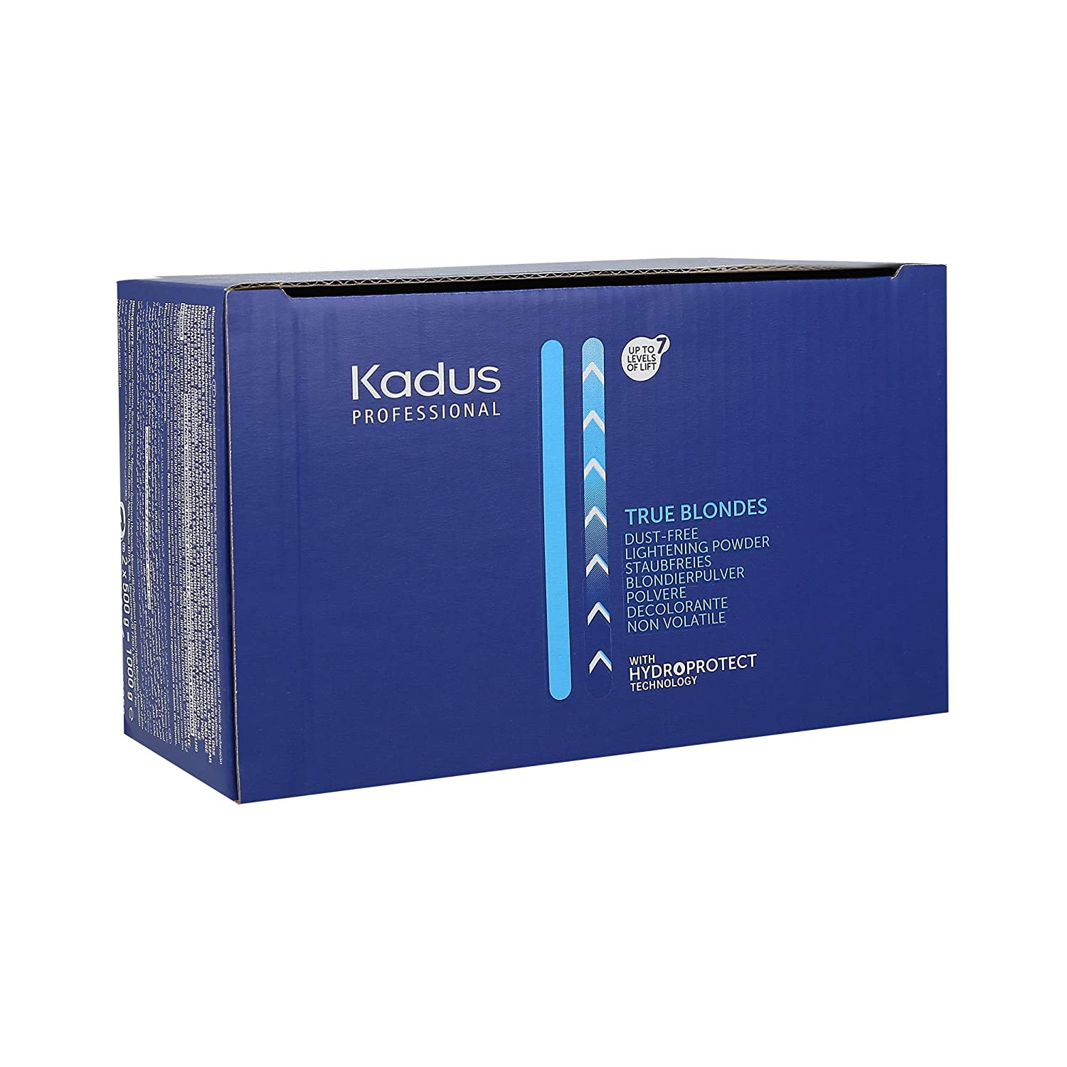 KADUS PROFESSIONAL TRUE BLONDES Dust-free Lightening Powder with Hydroprotect Technology, lot de 1 (2 x 500 g)