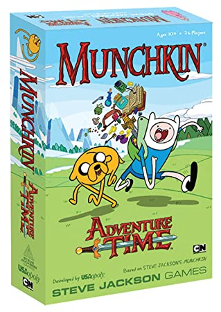 Munchkin Adventure Time Game, Board Games - Amazon Canada