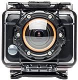 MEDION LIFE S47018 (MD 87205) WLAN Action Camcorder (5MP CMOS Sensor, wasserdicht, Full HD Video, OLED Display, Weitwinkel Objektiv) schwarz