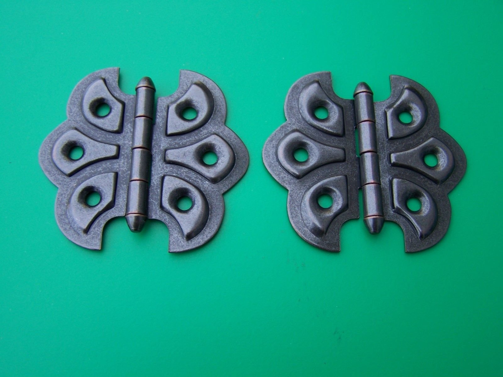 USA Premium Store Butterfly Hinges Flush Mount Full Surface Hinge Antique Style Sold In Pairs