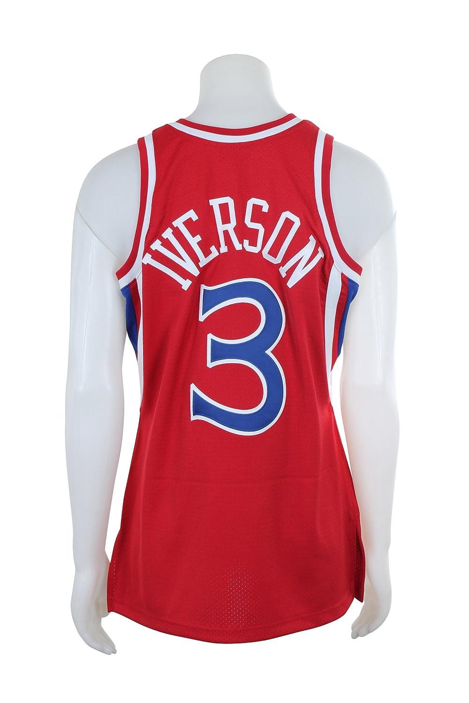 Amazon.com   Mitchell   Ness Allen Iverson 1996-97 Philadelphia 76ers  Authentic Red Jersey   Sports   Outdoors b9bdf3d8e