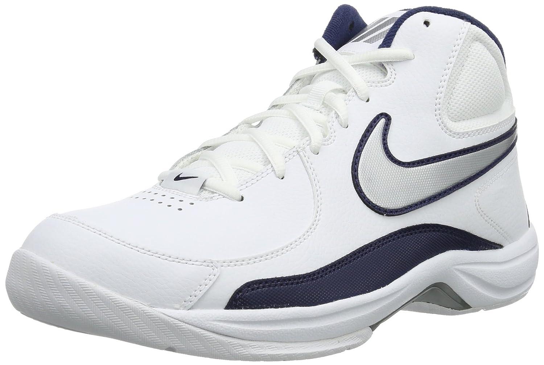 on sale fab0b 2f5c7 Amazon.com   Nike Overplay 7 Men s Basketball Shoes, White Silver Blue,  US12.5   Basketball