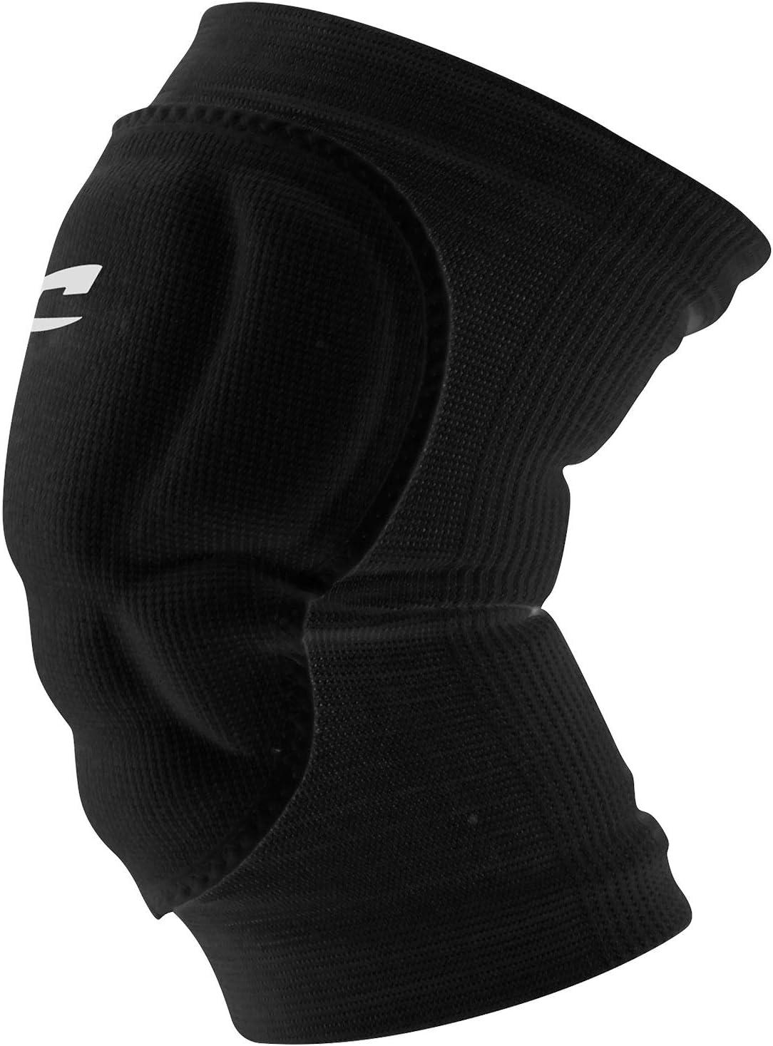 Black unisex-adult Champro Sports Arm Sleeve with Elbow Padding Youth