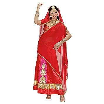 WIDMANN Desconocido Disfraz de diva de Bollywood para mujer ...