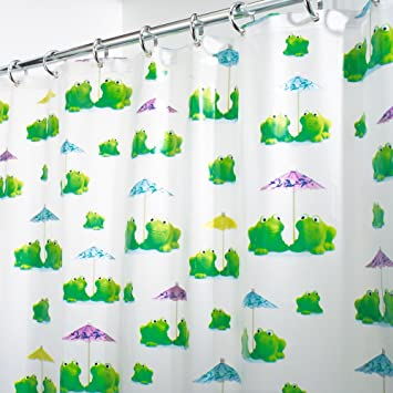 Frog Shower Curtain Nice Houzz
