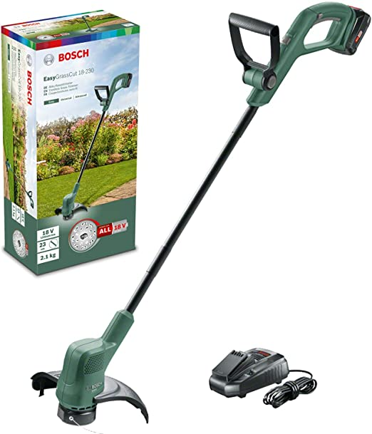 Cortaborde de Bateria litio 18V 2.0Ah Bosch Home and Garden