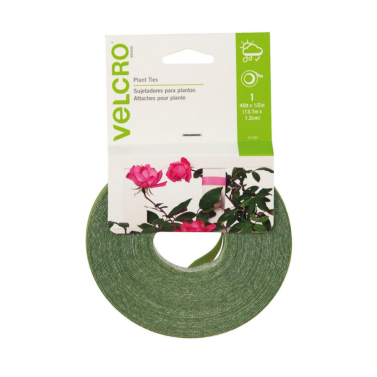 VELCRO Brand VPTG Velcro 1 2-Inch x 45-Foot Ties Plant Tie