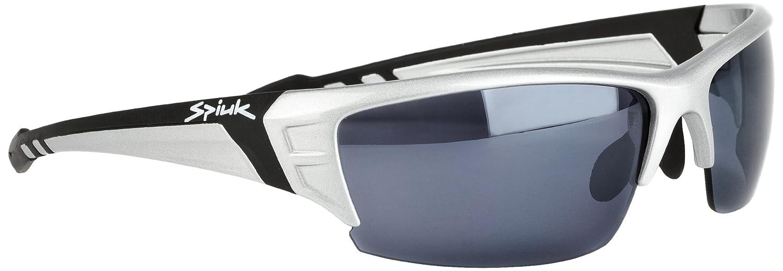 Spiuk Binomial - Gafas de ciclismo unisex, color plateado/negro: Amazon.es: Ropa y accesorios