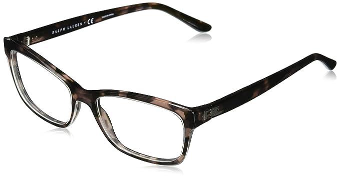 Ralph Lauren 0Rl6169, Monturas de Gafas para Mujer, Top Transparent/Pink Havana,