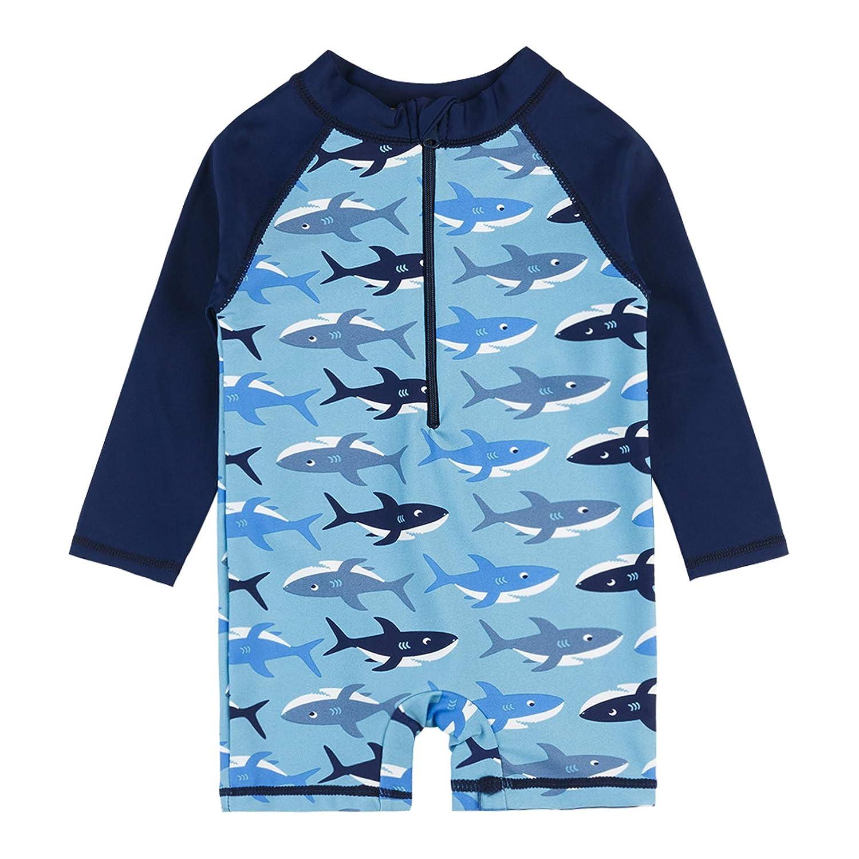 Sun Protective Sunsuit Vivafun Baby Boy Rash Guard Swimsuit UPF 40