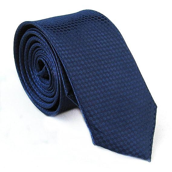 Elviros Hombre 5 cm Fashionable elegante corbata 16 colores Licht ...