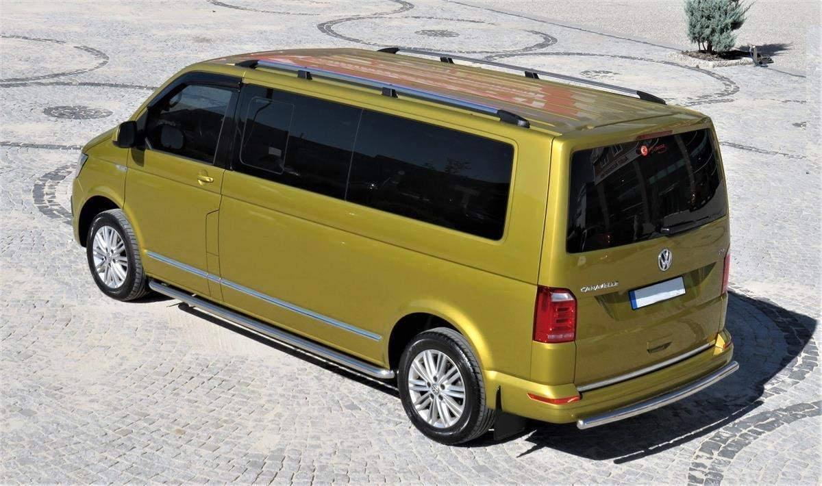 Barras de Techo para Volkswagen T5 y T6, Distancia Corta Entre ...