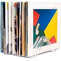 "Hudson Hi-Fi Vyramid Vinyl Record Storage Record Holder for Albums - Vinyl Organizer Record Album Storage Fits 7"" 10"" 12…"