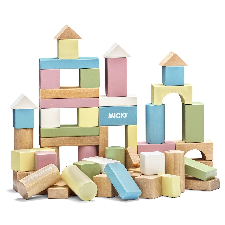Micki 10.2157.00 - Bausteine 60 Stü ck, Pastell Micki (MICDX) 10215700