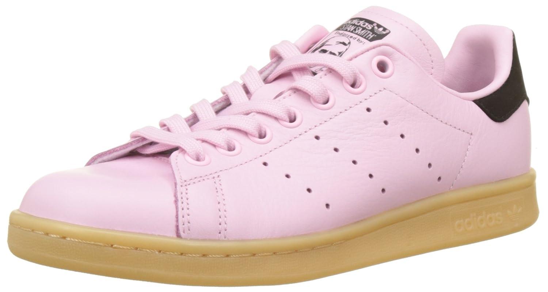 new product b6f7e 45f3b Amazon.com | adidas Women's Stan Smith Trainers, Pink (Blue ...