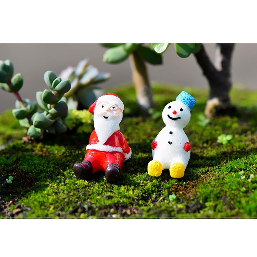 0.5x9.5cm MagiDeal Miniatur Ornament Mini-Szene Fee-Verzierung Set Laterne