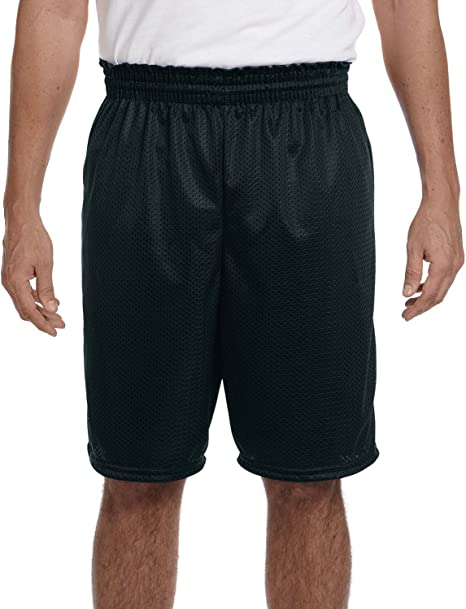 Augusta Activewear Mens Long Tricot Mesh Short//Tricot Lined