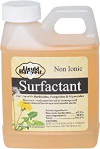 Liquid Harvest Surfactant for Herbicides Non-Ionic 8oz, Increase Product Coverage, Increase Product Penetration, Increase Product Effectiveness