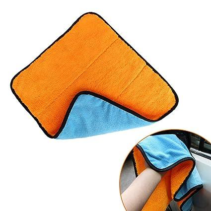 SwirlColor Toalla de Secado de Microfibra Toallas de Lavado de Autos Limpieza de Lavado (1