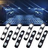 Truck Bed Lights, Falconstar LED Rock Light for Truck Pickup Bed, 24 LEDs Off Road Under Car, Side Marker LED Rock Lighting K