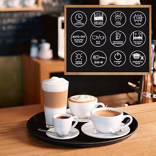Amazon.com: Melitta Optima Timer máquina de café de filtro ...