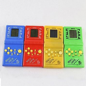 Amazon.es: Lumpur Máquina de Juegos portátil clásica Juego de Ladrillos Tetris Juguete electrónico clásico para niños con reproducción de música de Juego sin batería # 20