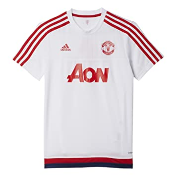 20beb4ea000 adidas Performance Manchester United Training Boys T-shirt White  (White/Scarlet/Dark
