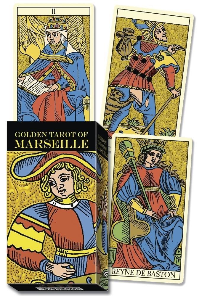 Golden Marseille Tarot: Lo Scarabeo: 9780738759456: Amazon ...
