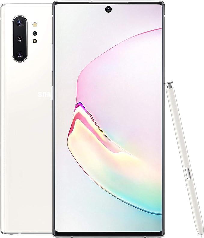 Samsung Galaxy Note 10+ Plus SM-N975F/DS 512 GB | 12 GB RAM | 6.8 Pulgadas (gsm Solamente, sin CDMA) Desbloqueado de fábrica 4G/LTE Smartphone – Versión Internacional (Blanco Aura): Amazon.es: Electrónica