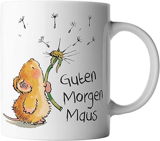 Vanverden Tasse Guten Morgen Maus Farbeweißbunt