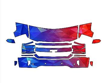 Chevrolet Silverado 1500 16 - 2017 3 m Scotchgard troquelada Lámina Protección de pintura transparente sujetador Kit: Amazon.es: Coche y moto