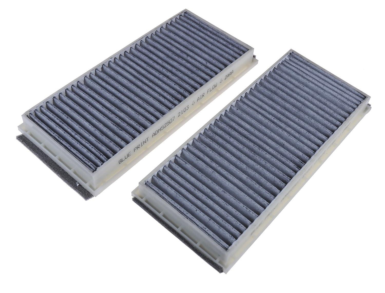 Blue Print ADM52507 cabin filter set Pack of 1