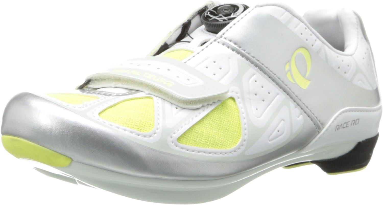 Pearl Izumi Women Race RD IV Carbon Road Bike Shoes EU 37.5 White BOA 3 Bolt