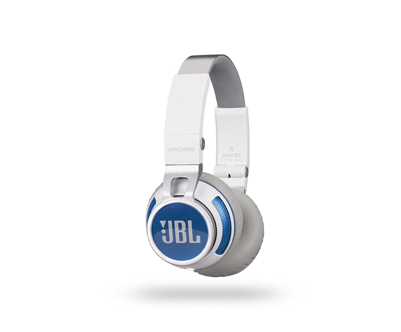 JBL Synchros S400BT ワイヤレスヘッドホン 密閉型/オンイヤー/Bluetooth ホワイト S400BTWHT 【国内正規品】  ホワイト B00J8YOQIQ