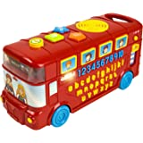 Cool Toys Baby Phonics Playtime School Bus | ABC, Numbers, Music, Colors and Quiz Mode | Portable Early Learning Electronics Toy for Boys and Girls | Adjustable Volume