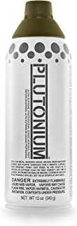 product image for PLUTONIUM Paint Ultra Supreme Professional Aerosol Paint, 12-Ounce, Stealth Dark Green