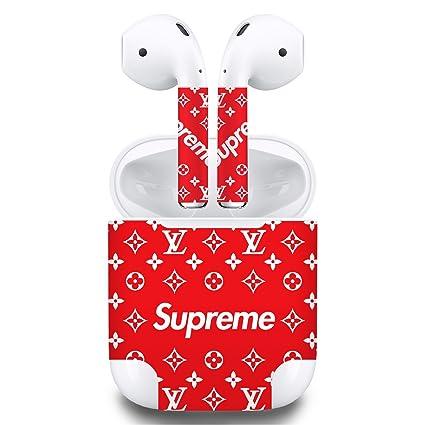 858b7e0ac5e4 Premium Vinyl Skin Sticker Compatible with Apple Airpods (Brown)   Amazon.com.au  Computers   Accessories