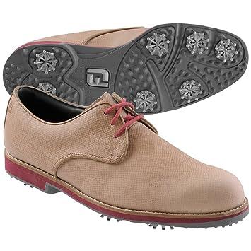 buy popular c3cf0 331e7 Foot Joy - Chaussures De Golf City pour Hommes - Marron Rouge, 42.5