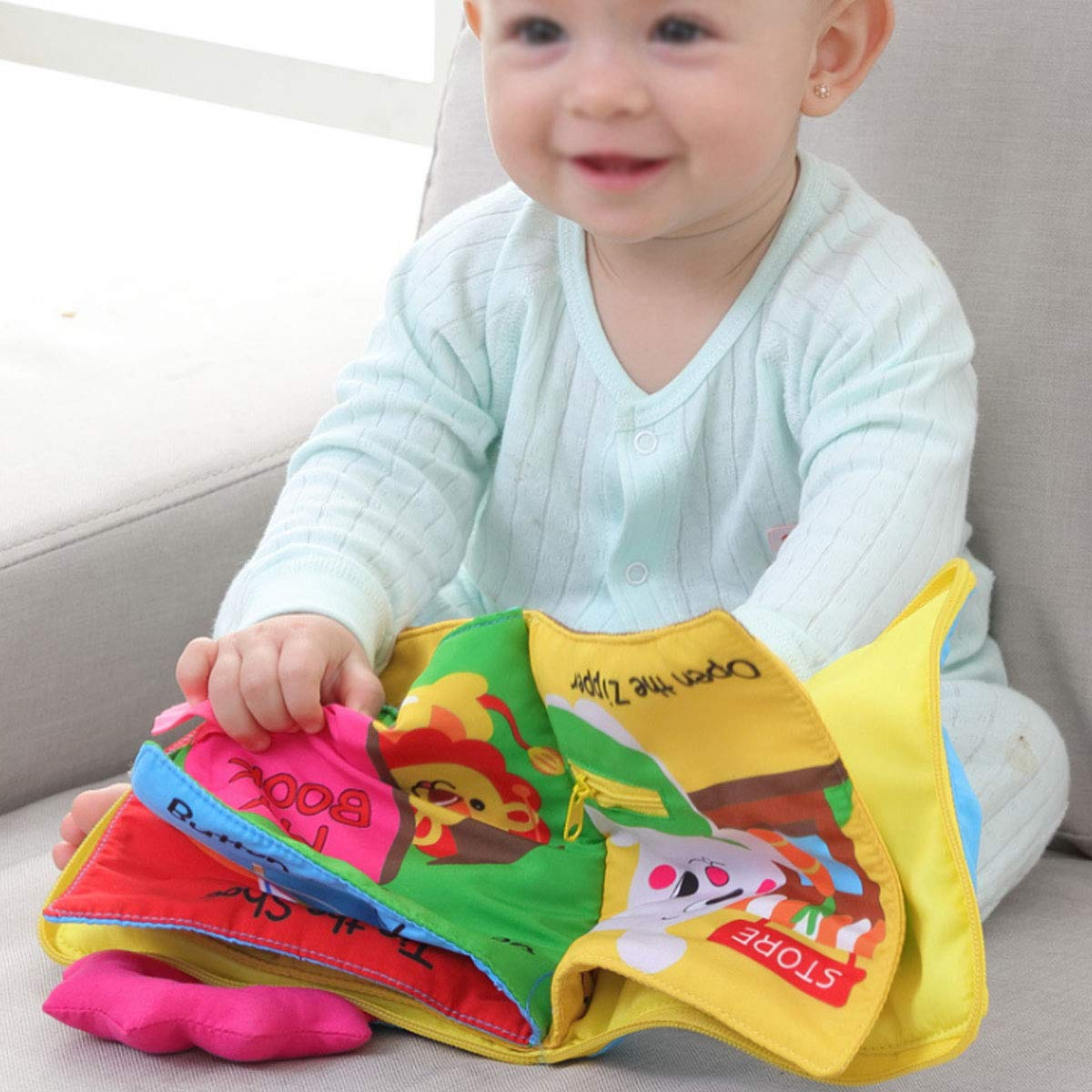 Buckle Zip Snap Lace /& Tie Millya Toddler Early Learning Basic Life Skills Learn to Dress Board Book Button