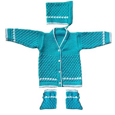 6639c2c6d7a4 Apna Showroom Boy s and Girl s Woollen Sweaters (0-6 Months ...