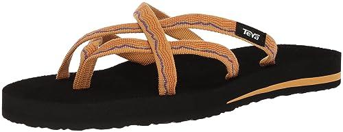 aa1d81b9f387 Teva Womens Women s W Olowahu Flip-Flop vida Yellow 5 ...