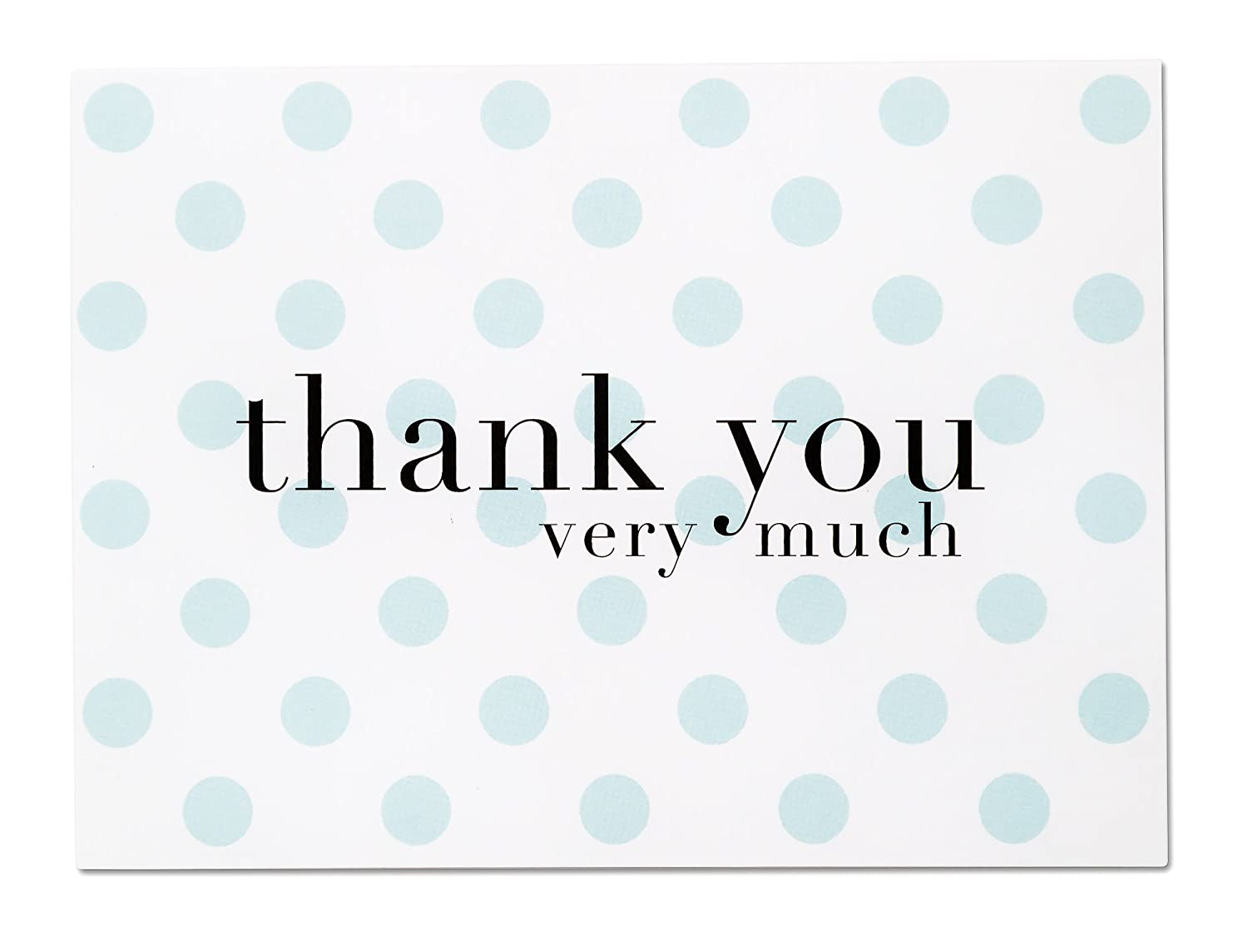 Amazon.com : Baby Shower Thank You Cards for Baby Boy - 36 Blue Polka Dot  Blank Note Cards with White Envelopes (Baby Blue) : Office Products
